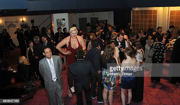Atmosphere at the 5th Annual Indie Series Awards held at the Portal Theatre on April 2 2014 in North Hollywood California