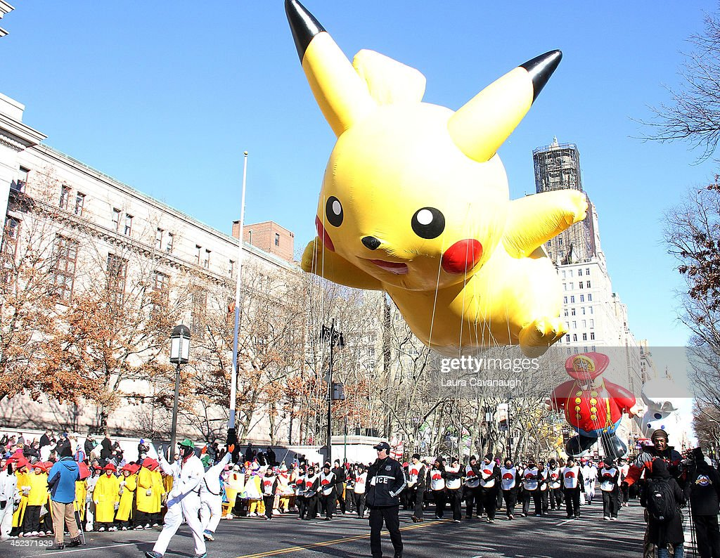 Atmosphere at the 87th Annual Macy's Thanksgiving Day Parade on November 28 2013 in New York City