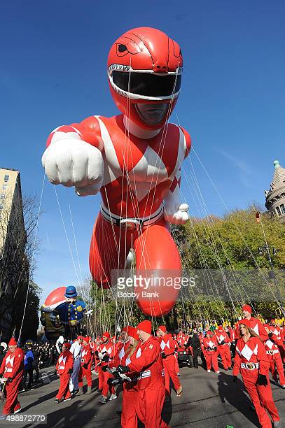 Atmosphere at the 89th Annual Macy's Thanksgiving Day Parade on November 26 2015 in New York City