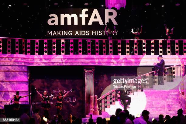 Atmosphere at the amfAR Gala Cannes 2017 at Hotel du CapEdenRoc on May 25 2017 in Cap d'Antibes France