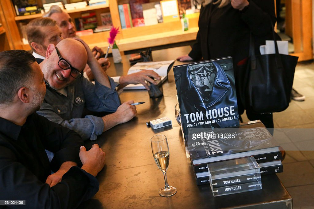 Atmosphere at the Book Signing and Launch of 'Tom House: Tom of Finland in Los Angeles' at BookMarc on May 24, 2016 in New York City.