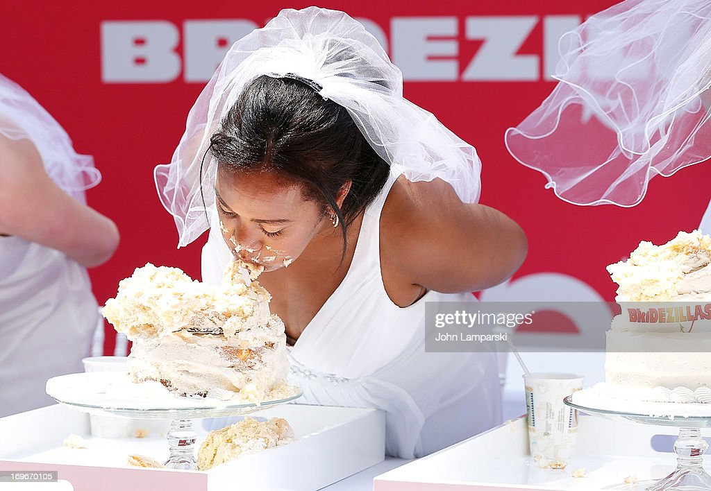 Atmosphere at the 'Bridezillas' Cake Eating Competition & WE TV's 10th Anniversary Celebration at Madison Square Garden on May 30, 2013 in New York City.