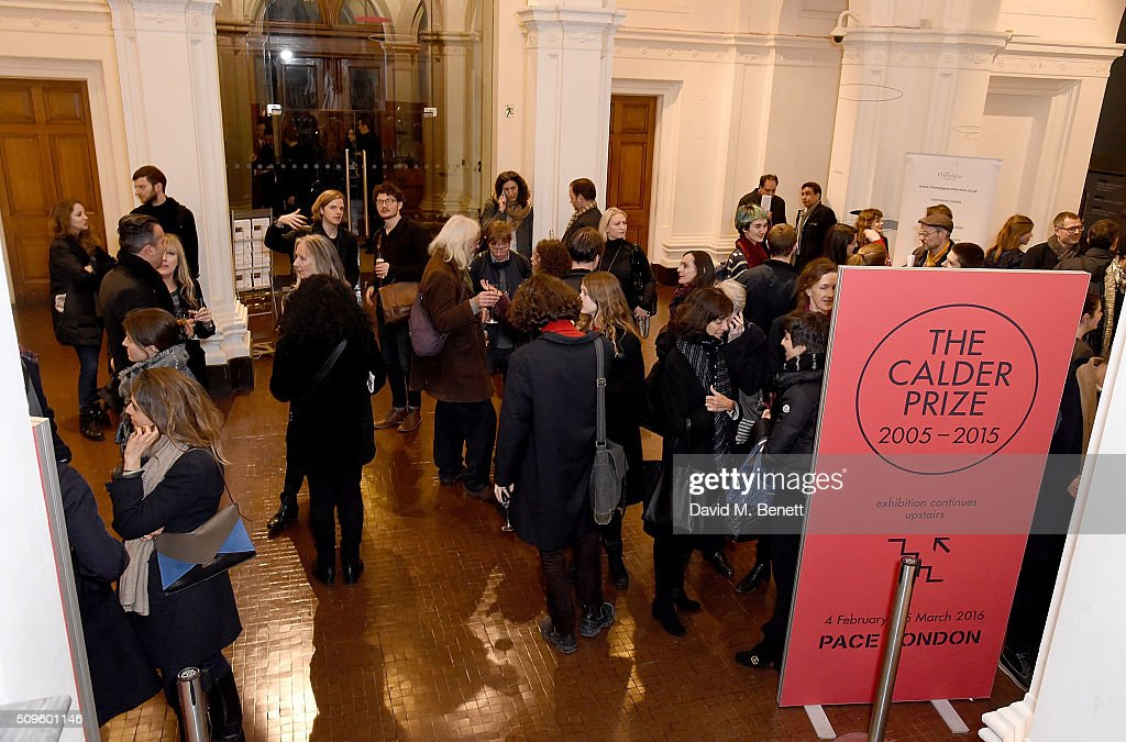 Atmosphere at The Calder Prize 2005-2015 presented by Pace London And The Calder Foundation, on February 11, 2016 in London, England.