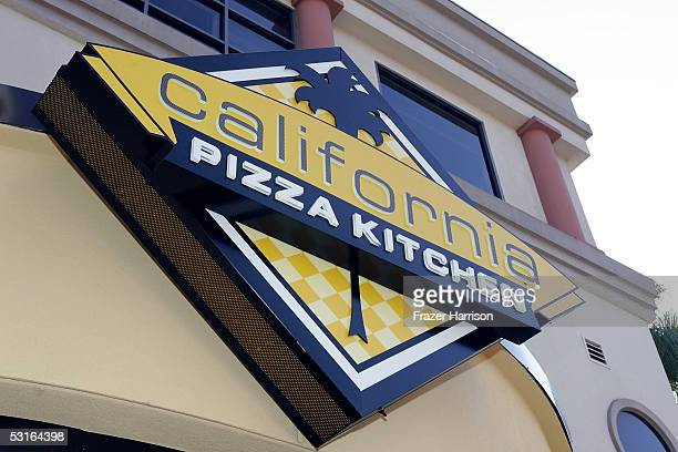 Atmosphere at the California Pizza Kitchen grand opening preview party held to benefit AIDS Project Los Angeles on June 28 2005 in Los Angeles...