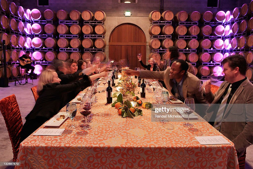 Atmosphere at the Chimney Rock Wine Dinner at the 2011 Napa Valley Film Festival on November 12 2011 in Napa California