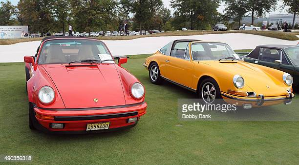 Atmosphere at the Concours d'Elegance at Trump National Golf Club on September 27 2015 in Bedminster New Jersey