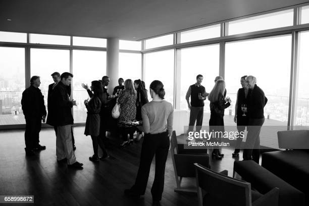 Atmosphere at THE COOPER SQUARE HOTEL MINIBAR EXCLUSIVES UNVEILING at Cooper Square Hotel Penthouse on April 21 2009 in New York City