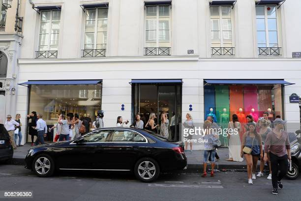 Atmosphere at the Creatures of the Wind System Magazine hosted by Colette with Juergen Teller and Marley Natural at Colette on July 4 2017 in Paris...