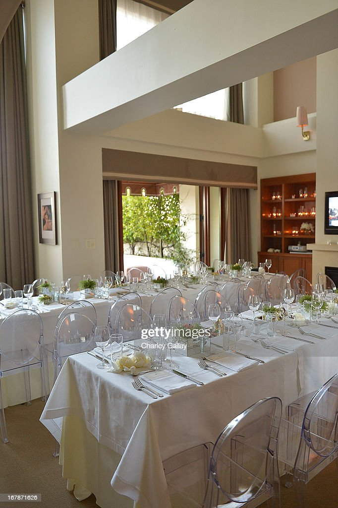 Atmosphere at the David Webb Dinner in honor of LAXART at Sunset Tower on May 1, 2013 in West Hollywood, California.