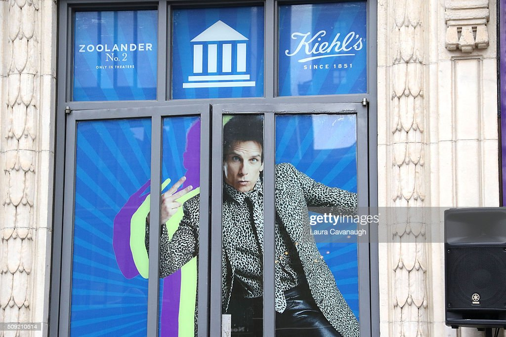 Atmosphere at the Derek Zoolander Center For People Who Don't Age Good opening on February 9, 2016 in New York City.