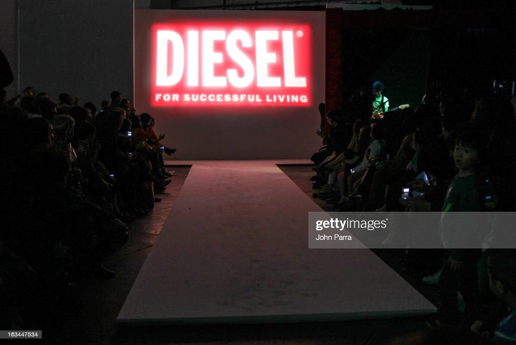 Atmosphere at the Diesel Kids fashion show during 2013 petitePARADE Kids Fashion Week at Industria Superstudio on March 9, 2013 in New York City.