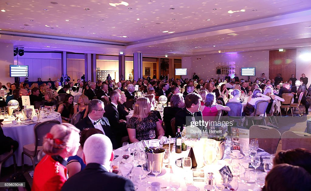Atmosphere at the Disability Snowsport UK ParaSnowBall 2016 sponsored by Crystal Ski Holidays and Salomon, at The Hurlingham Club on April 28, 2016 in London, England.