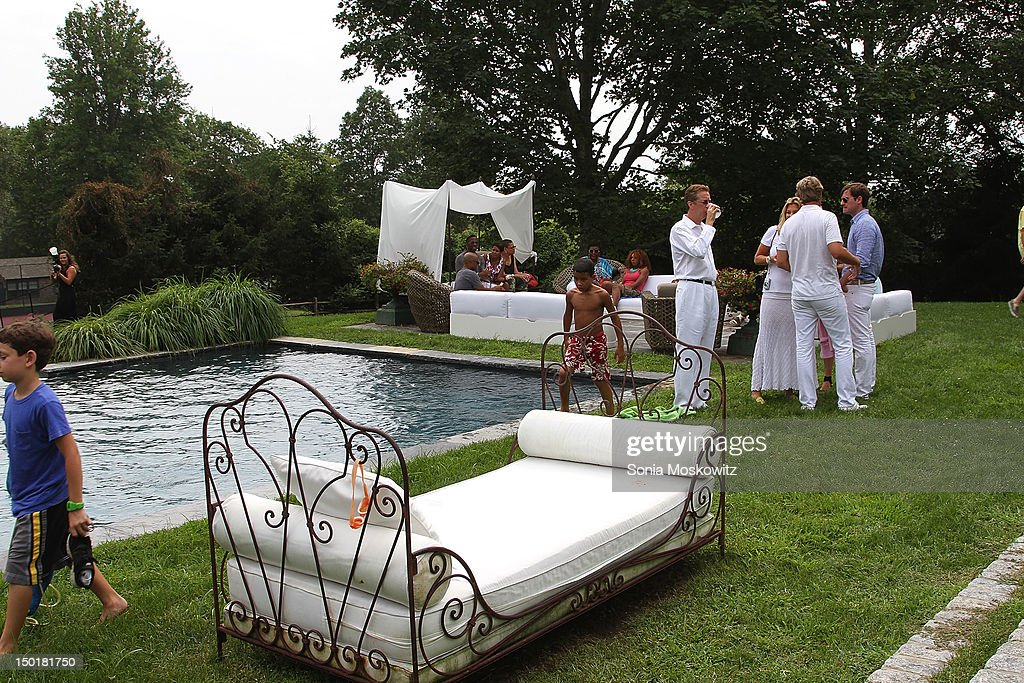 Atmosphere at the EleVen by Venus Williams partyon August 11, 2012 in Southampton, New York.