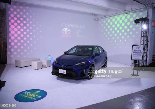 Atmosphere at the Essence Toyota Future 15 Event at Root NYC on June 22 2017 in New York City