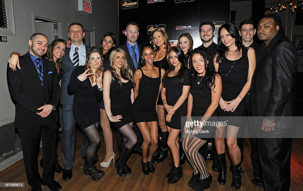 Atmosphere at the 'Farah Goes Bang' after party during the 2013 Tribeca Film Festival at Bounce Sporting Club on April 19, 2013 in New York City.