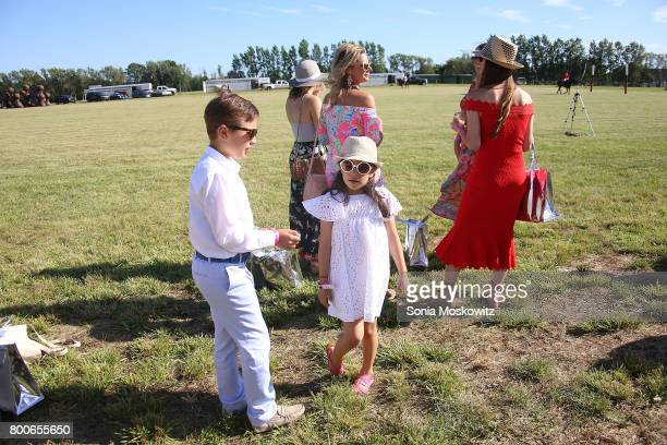 Atmosphere at the First Annual Polo Hamptons Match at Southampton Polo Club on June 24 2017 in New York City