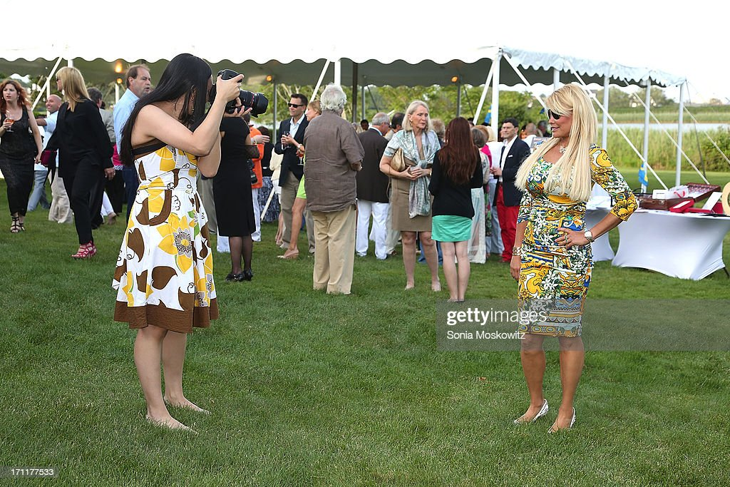 Atmosphere at the Get Wild Event Benefiting Evelyn Alexander Wildlife Rescue Center at Private Residence on June 22, 2013 in Southampton, New York.