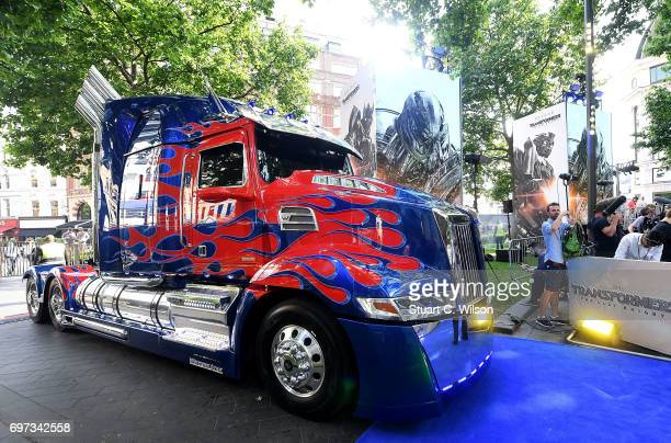 Atmosphere at the global premiere of 'Transformers The Last Knight' at Cineworld Leicester Square on June 18 2017 in London England