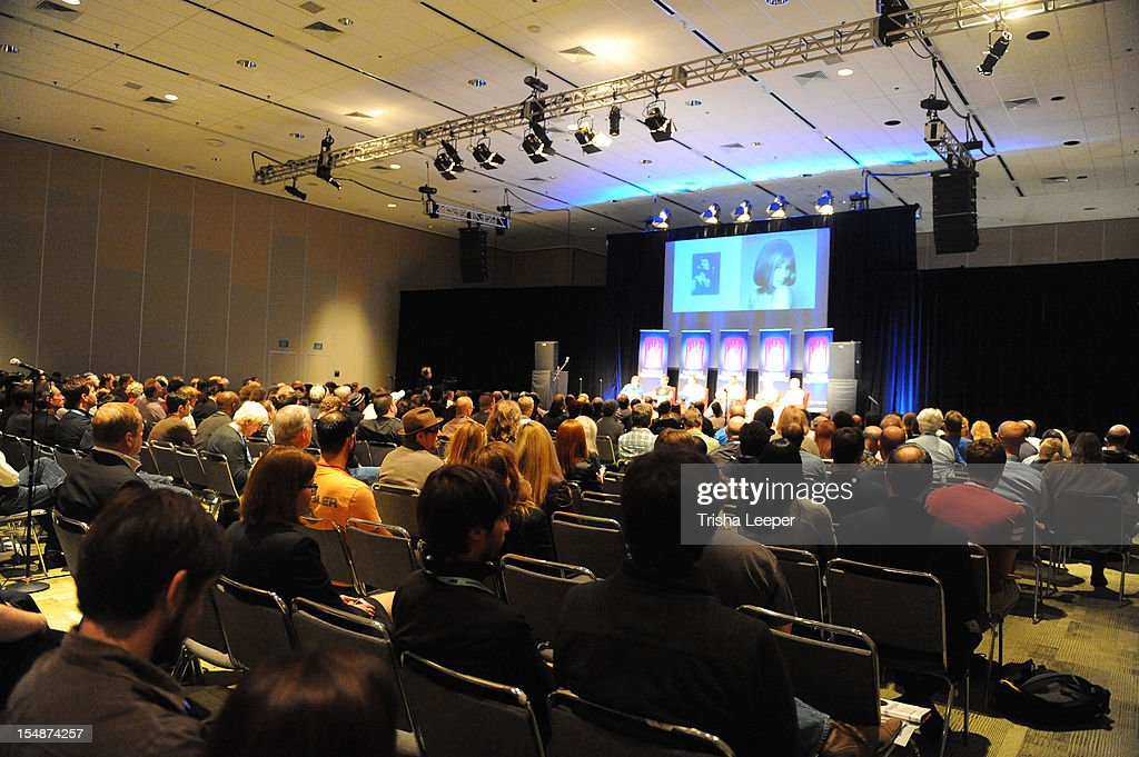 Sonic Imprints-Songs That Changed My Life at The Moscone Center on October 27, 2012 in San Francisco, California.