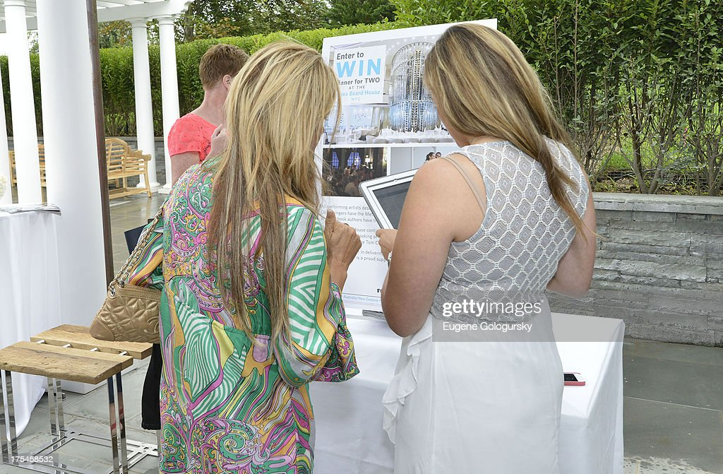 Atmosphere at the Hamptons Magazine Celebrates With Cover Stars, Jonathan Adler And Simon Doonan at Day Lily Estate on August 3, 2013 in Bridgehampton, New York.