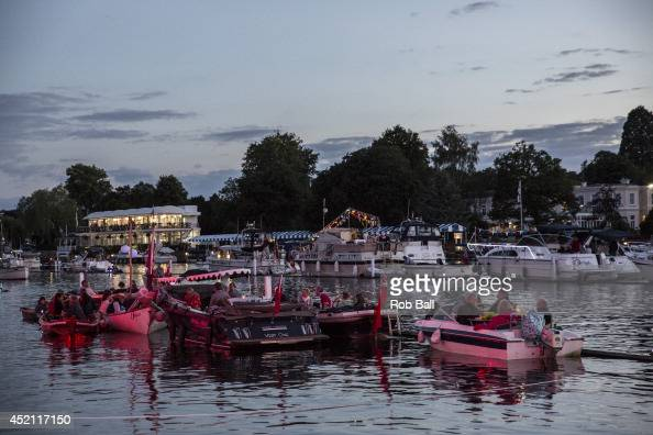 Atmosphere at The Henley Festival on July 13 2014 in HenleyonThames England
