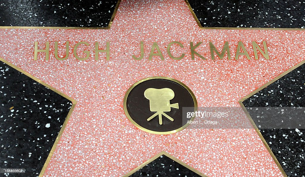 Atmosphere at the Hugh Jackman Star ceremony at The Hollywood Walk Of Fame on December 13, 2012 in Hollywood, California.