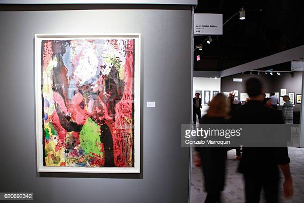 Atmosphere at the IFPDA Print Fair Opening Preview at Park Avenue Armory on November 2 2016 in New York City