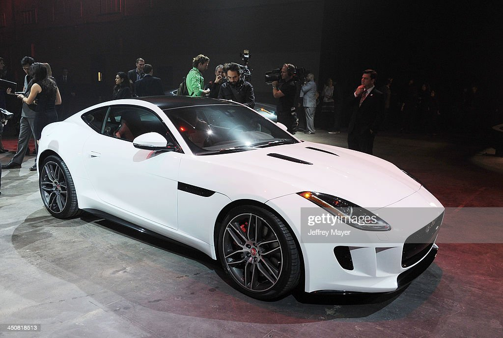 Atmosphere at the Jaguar F-TYPE Coupe launch party at Raleigh Studios Playa Vista on November 19, 2013 in Playa Vista, California.
