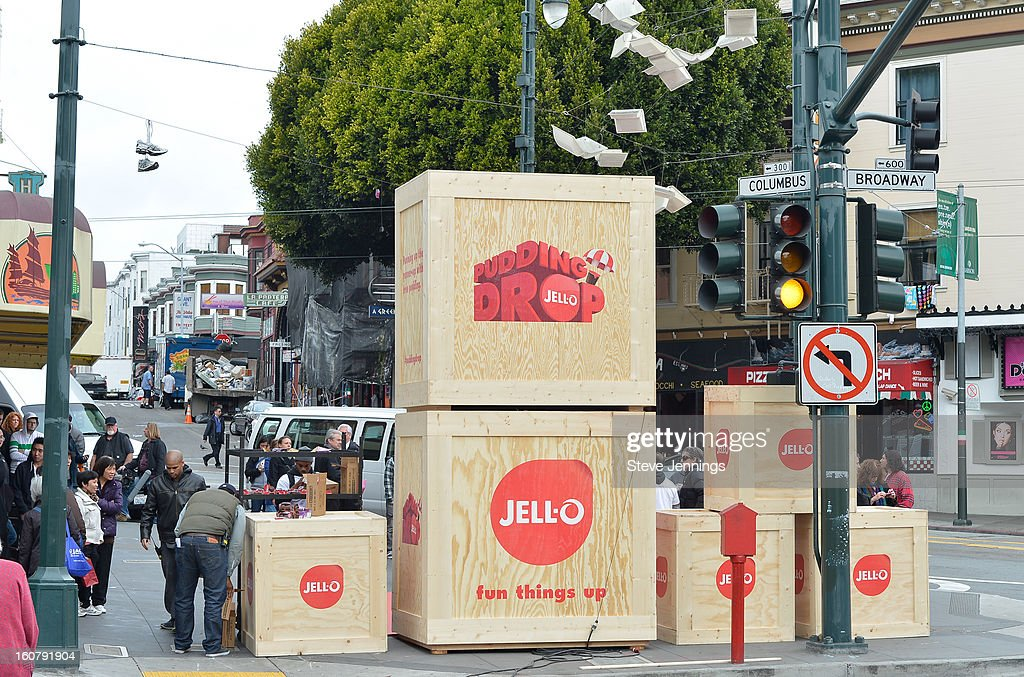 Atmosphere at the JELL-O Make The Taste of Defeat Sweet on February 5, 2013 in San Francisco, California.