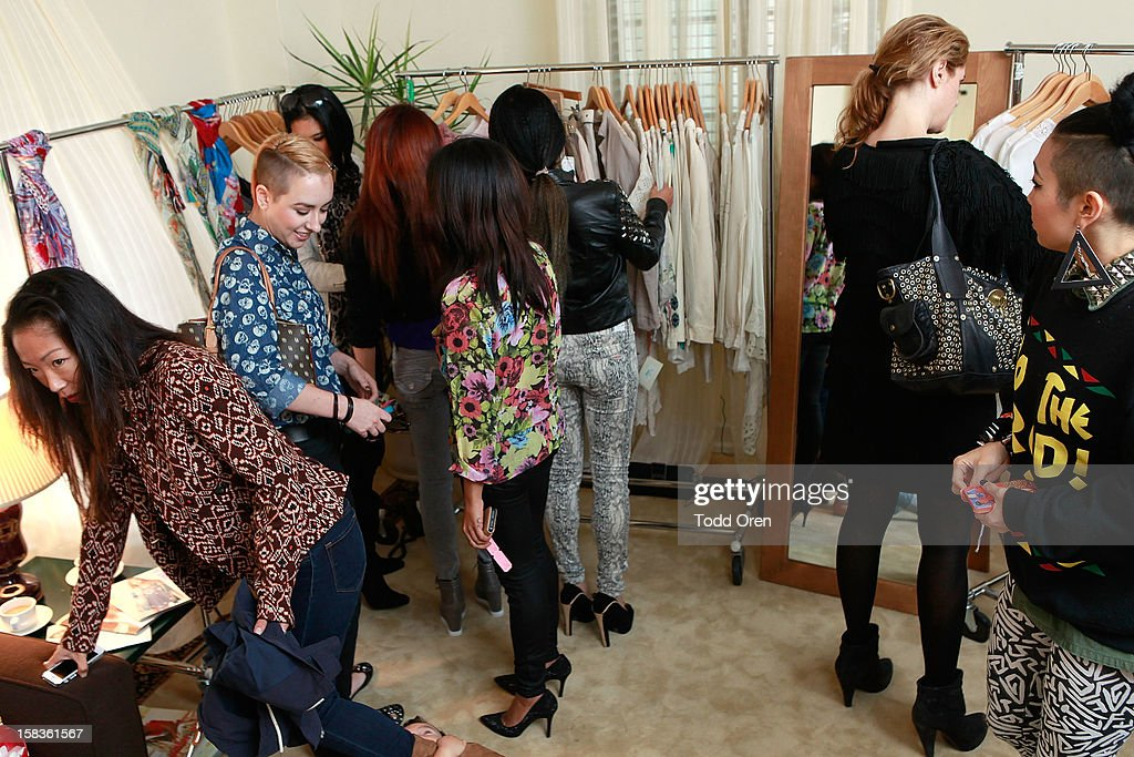 Atmosphere at the Johnny Was Holiday Gifting Suite at Chateau Marmont on December 13, 2012 in Los Angeles, California.