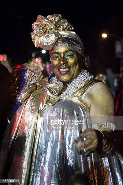 Atmosphere at the J'ouvert Parade as thousands of revellers took to the streets of Crown Heights beginning around 300 AM for a colorful and raucous...