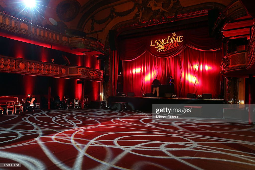 Atmosphere at the 'Lancome Show by Alber Elbaz' at Le Trianon on July 2, 2013 in Paris, France.