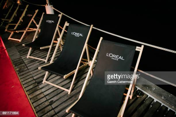 Atmosphere at the L'Oreal Paris Cinema Club party during the 70th annual Cannes Film Festival on May 24 2017 in Cannes France