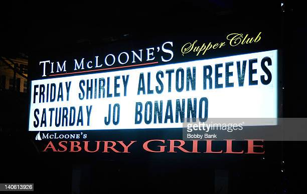 Atmosphere at the Masters of Music Series presents Shirley Alston Reeves at the McLoones Supper Club on March 2 2012 in Asbury Park New Jersey