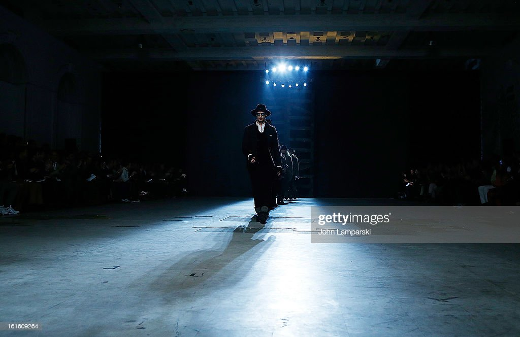 Atmosphere at the Michael Bastian during Fall 2013 Mercedes-Benz Fashion Week>> on February 12, 2013 in New York City.