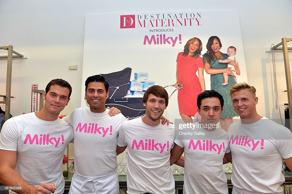 Atmosphere at the Milky! launch event at A Pea In The Pod on May 2, 2013 in Beverly Hills, California.