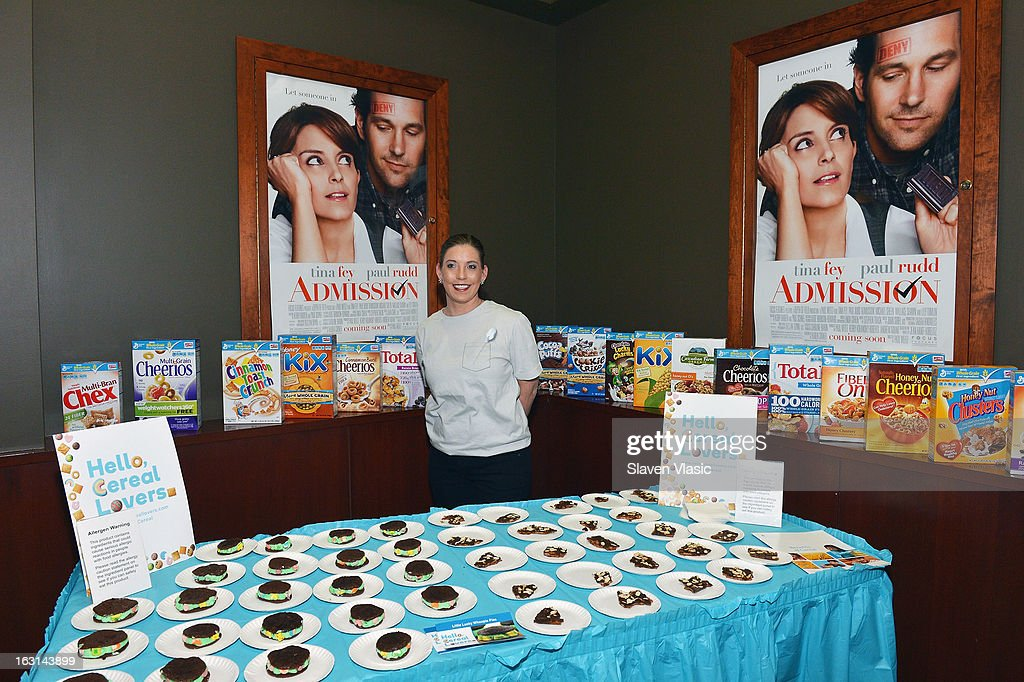 Atmosphere at The MOMS Celebrate the Release Of 'Admission' at Disney Screening Room on March 5, 2013 in New York City.