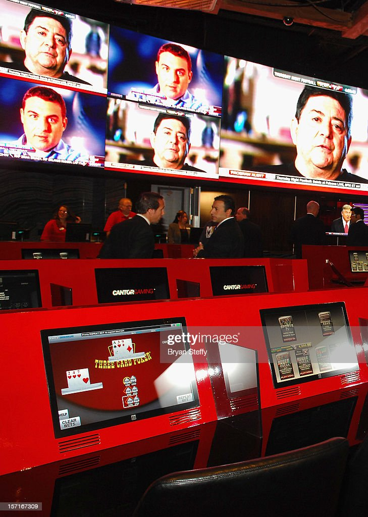 Atmosphere at the new Cantor Gaming sports book at the Silverton Casino Lodge on November 29, 2012 in Las Vegas, Nevada.