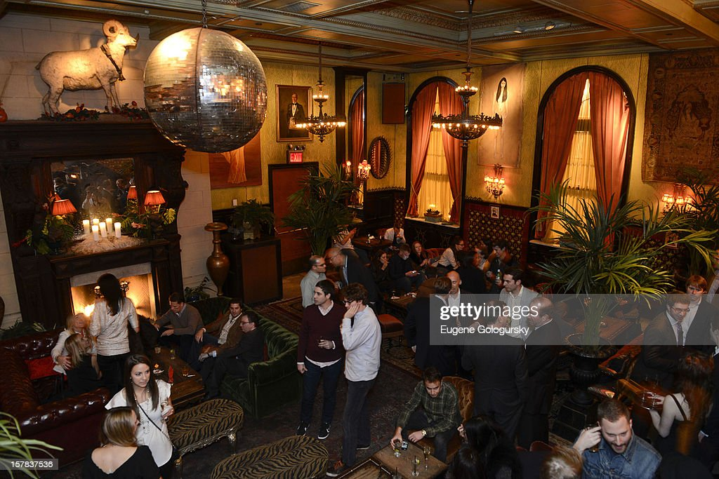 Atmosphere at the NJOY King Launch at The Jane Hotel on December 6, 2012 in New York City.