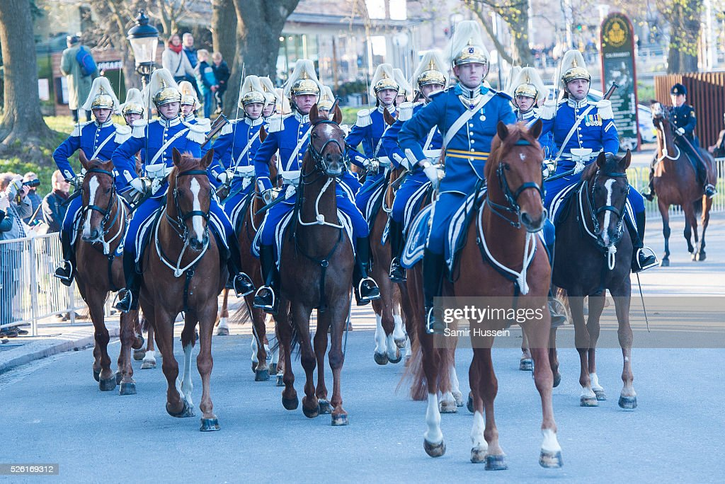 Atmosphere at the Nordic Museum as the Swedish Royals attend Royal Swedish Opera and Stockholm Concert Hall to celebrate the 70th birthday of King Carl Gustaf of Sweden on April 29, 2016 in Stockholm, Sweden.