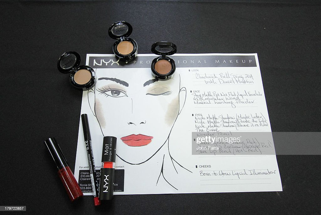 Atmosphere at the NYX Cosmetics Official Makeup Sponsor of Chadwick Bell Spring/Summer 2014 at Hosfelt Gallery on September 6, 2013 in New York City.