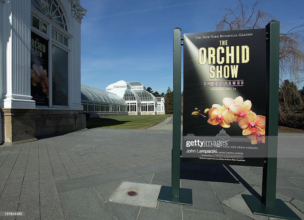 Atmosphere at 'The Orchid Show On Broadway' preview at The New York Botanical Garden on March 4 2011 in the Bronx borough of New York City