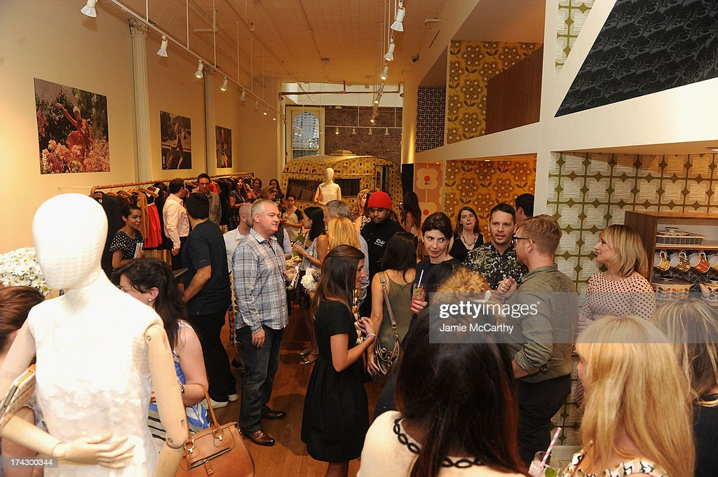 Atmosphere at the Orla Kiely for Target Preview Party on July 23, 2013 in New York City.
