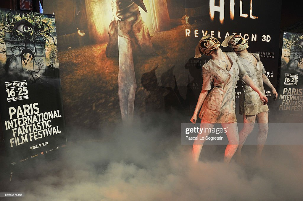 Atmosphere at the Paris Premiere for the film 'Silent Hill Revelation 3D' at Gaumont Capucines on November 25, 2012 in Paris, France.