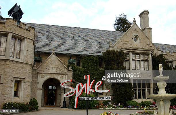Atmosphere at the Playboy Mansion during Launch of Spike TV at the Playboy Mansion in Los Angeles California United States
