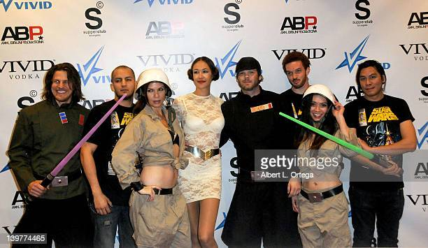 Atmosphere at the Premiere Of Vivid Entertainment's 'Star Wars XXX A Porn Parody' held at SupperClub on February 23 2012 in Hollywood California