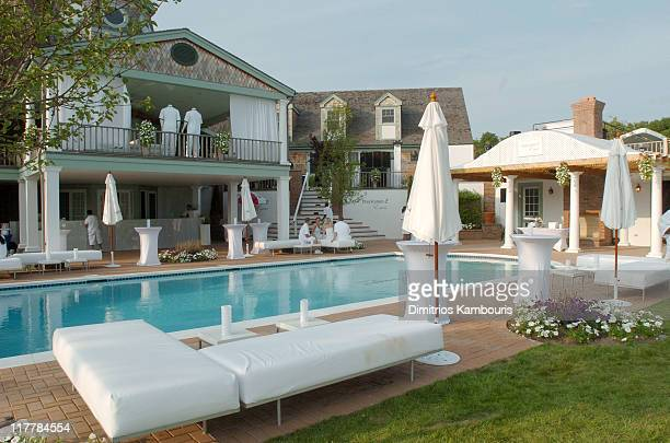 Atmosphere at the PS2 Estate during PS2 Estate Day 3 6th Annual P Diddy White Party in Bridgehampton New York United States