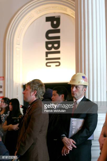 Atmosphere at THE PUBLIC THEATRE Kicks Off Building Renovations and Launches CAPITAL CAMPAIGN With CEREMONIAL GROUNDBREAKING at The Public Theatre on...