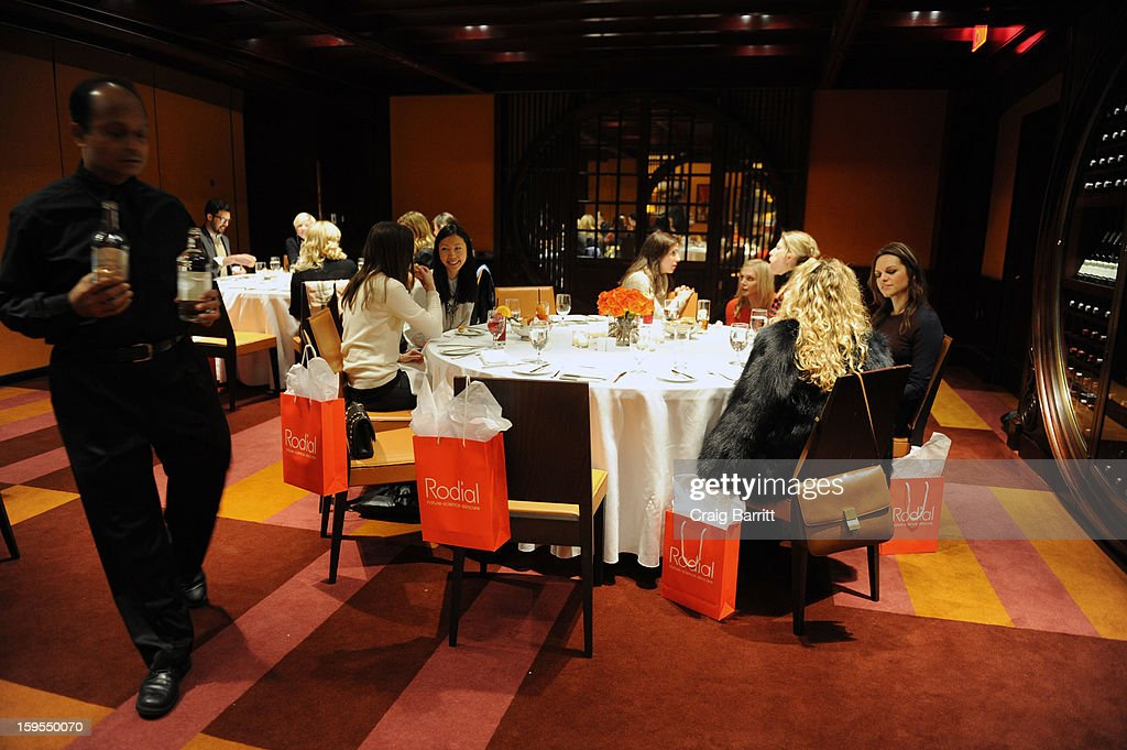 Atmosphere at the Rodial 10 Year Anniversary Luncheon at The Lambs Club on January 15, 2013 in New York City.