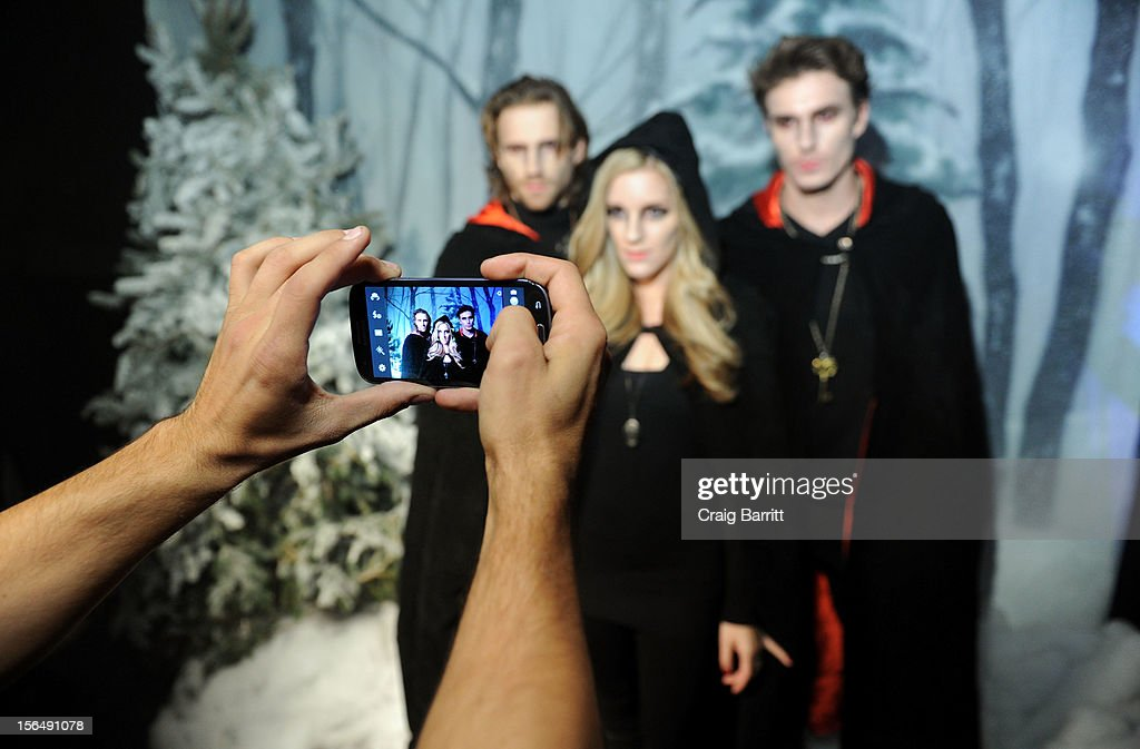Atmosphere at the screening of 'The Twilight Saga: Breaking Dawn Part 2' hosted by The Cinema Society with The Hollywood Reporter & Samsung Galaxy on November 15, 2012 in New York City.